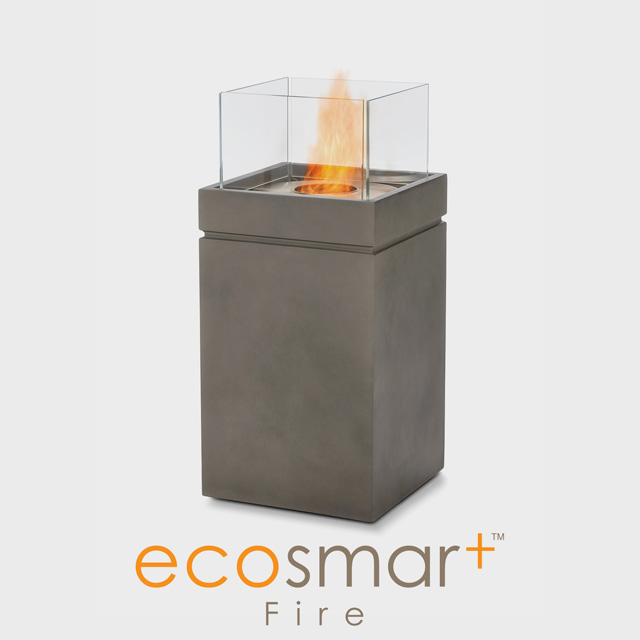 Biofuel Fireplaces NZ - Fire Pits EcoSmart Tower