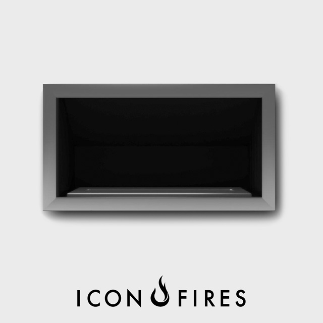 Biofuel Fireplaces NZ - Fireboxes Icon Fires Commercial Grand XL