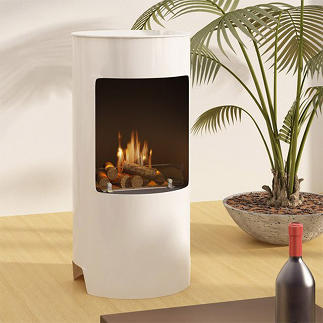 Bioethanol Fireplace Auckland - Free Standing Naked Flame FS116
