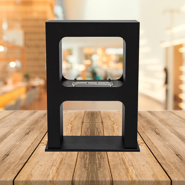 Bioethanol Fireplace Auckland - Free Standing Naked Flame FS117