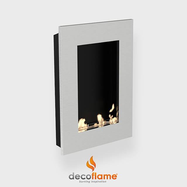 Biofuel Fireplaces NZ - Wall Mounted Decoflame New York Tower
