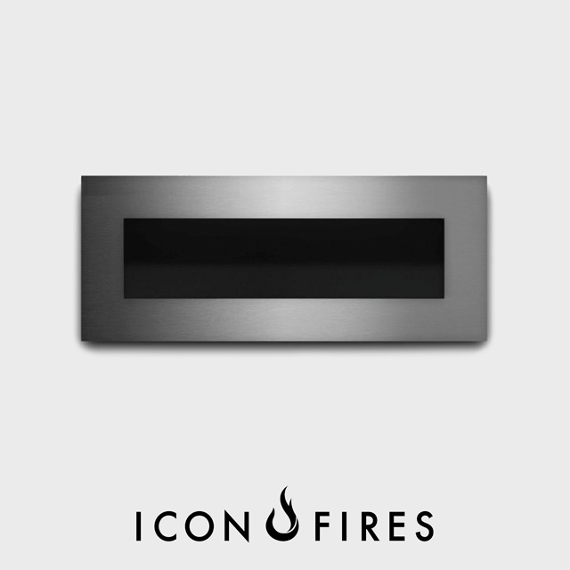 Biofuel Fireplaces NZ - Wall Mounted Icon Fires Nero 1450