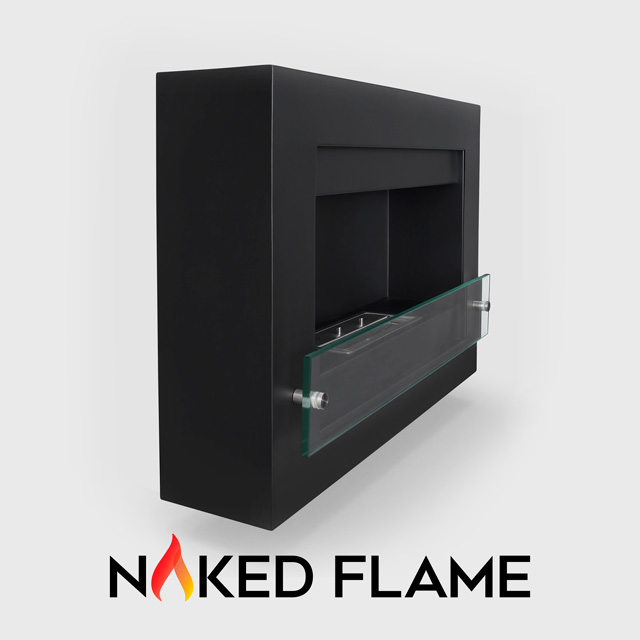 Biofuel Fireplaces NZ - Wall Mounted Naked Flame WM255