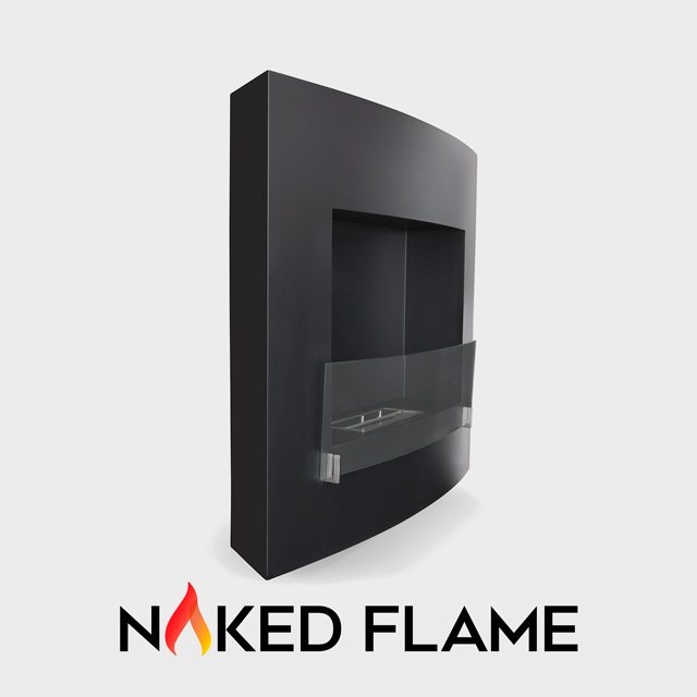 Biofuel Fireplaces NZ - Wall Mounted Naked Flame WM259